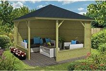 350 cm x 350 cm Gartenhaus Debussy Garten Living