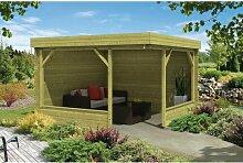 350 cm x 350 cm Gartenhaus Fred Garten Living