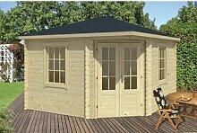 350 cm x 350 cm Gartenhaus Mikel Garten Living