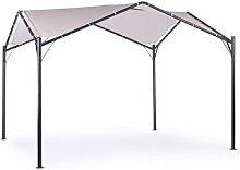 350 cm x 350 cm Pop-up-Pavillon Brissett aus Metall