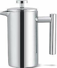 350ML Doppelwandige Kaffeemaschine aus Edelstahl