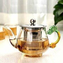 350ml handgemachte Teekanne mit Filter