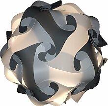 35cm Grau-weiss Puzzle Lampe Bastellampe designerlampe