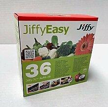 36 St. Jiffy Original Kokos Quell-Tabletten 36mm
