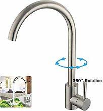 360° drehbar Wasserhahn Küche Einhebelmischer