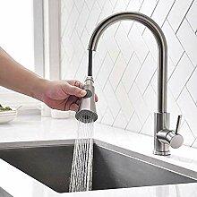 360 ° drehbarer Küchenarmatur mit Griff Dusche