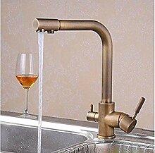 360 ° drehbarer Wasserhahn Retro Wasserhahn