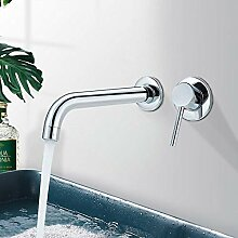 360 ° Drehung Messing Silber Bad Waschbecken