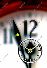 3618 Dixtime Designer Wanduhr, Wanduhren, Moderne