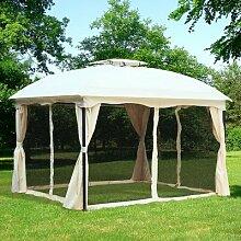 365 cm x 300 cm Grillpavillon Mcgann aus Kunststoff