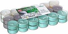 36er Set Villaverde Flatpack Duftteelicht Teelicht