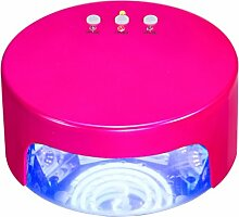 36w Nageltrockner Nagel-Lampe Kuchen-Art Nagel-Lampe UV + LED Phototherapie-Maschine Induktion Zeitlich Befristet Nagel-Werkzeuge,Red