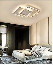 36W Warmweiss LED Deckenleuchte Modern Eckig