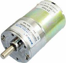 37mm Durchmesser Grill Elektronische Teile Geared Motor 100RPM 24VDC