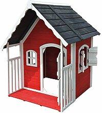 3707 Spielhaus Villa für Kinder Holz Veranda