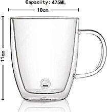 375 cups / 475ml Hitze, gesunde doppelwandige