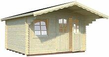 380 cm x 380 cm Gartenhaus Brodnax Garten Living