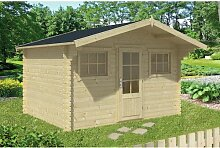 380 cm x 380 cm Gartenhaus Javen Garten Living