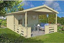 380 cm x 589 cm Gartenhaus Duane Garten Living