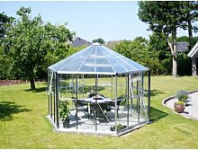 383 cm x 336 cm Pavillon Nieto aus Aluminium