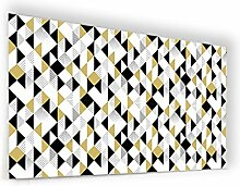 'Boden für Dunstabzugshaube aus Glas Synthese