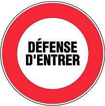'novap–Panneau Signalisierung Defense