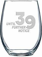 39 Weinglas ohne Stiel