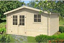 390 cm x 390 cm Gartenhaus Benedict Garten Living