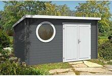 396 x 335 cm Gartenhaus Lauren