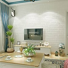 3D 10m Backstein Tapete Roll texturierte Vlies Tapete Home Decor