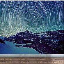 3D Abstrakte Sterne Raum Tapete Wandbild