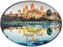 3D Angkor Wat Kambodscha Kühlschrank