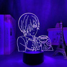 3D Anime Lampe Acryl Black Butler für
