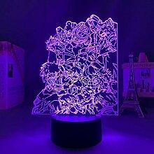 3D Anime Lampe Led Light My Hero Academia für