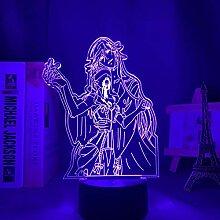 3D Anime Lampe Led Nachtlicht Black Butler für