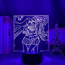 3D Anime Lampe LED Nachtlicht Kakegurui