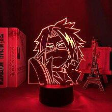 3D Anime Lampe Led Nachtlicht My Hero Academia