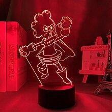 3D Anime Lampe My Hero Academia Minoru Mineta für