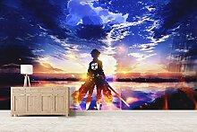 3D Attack On Titan 588 Japan Anime Tapeten Drucken