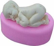 3D Baby Form Silikonform Seifenform,