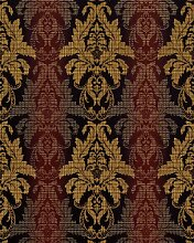 3D Barock-Tapete Damask EDEM 770-36 Luxus Tapete