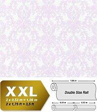 3D Barock Vliestapete EDEM 696-92 Tapete klassischer Stil mit Schnörkeln XXL rosa beige | 10,65 qm