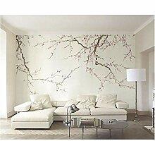3d benutzerdefinierte blumen tapete für wände