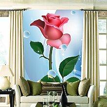 3D Benutzerdefinierte veranda Europäischen vertikale version schlafzimmer wohnzimmer hotel restaurant rose blume mural tapete 350X250 cm