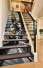 "3D Berggipfel Brücke Taube 50 Stair Risers Dekoration Fototapete Vinyl Aufkleber Tapete DE Lemon (15x H:18cm x W:94cm (7""x37""))"