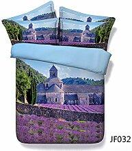 3D-Bettwäsche Drei Romantische