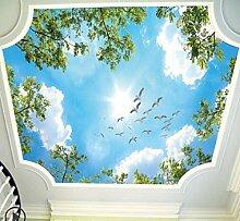 3D blauer Himmel weiße Wolken Himmel Wolken