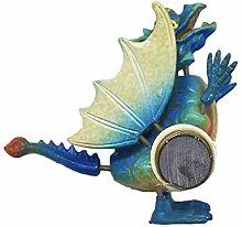 3D Blue Flying Dragon Kühlschrankmagnet