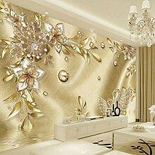 3D Blume Schmuck Damaskus Muster Hintergrund