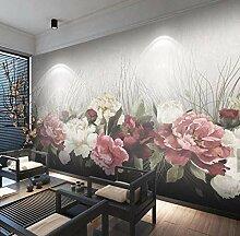3D Blumen Wandbild Tapete für Wohnzimmer